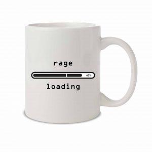 Rage Loading mug